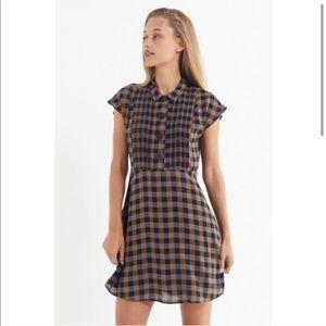 New Plaid short dress
